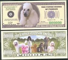 POODLE Million Note ~ Crisp  Fantasy Note ~ Poodles