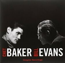 Complete Recordings by Chet Baker/Bill Evans (Piano)/Bill Evans (Sax) (Vinyl, Oct-2015, Vinyl Lovers)