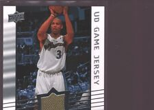 CARON BUTLER 2008-09 UD UPPER DECK GAME USED WORN JERSEY PATCH WIZARDS $12