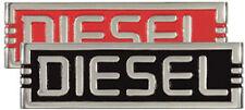DIESEL Cast Aluminum Plaque Truck Hood Body Motor Plate CHOICE