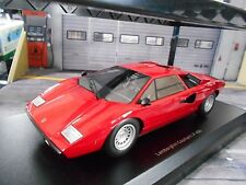 Lamborghini Countach lp400 LP 400 v12 Rouge Red 1978 KYOSHO kyo9531r0 1:18