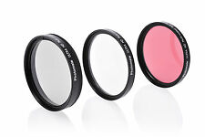 58mm 3-Piece UV CPL ND8 Filter Kit for Digital SLR Camera Lens with Case Wallet