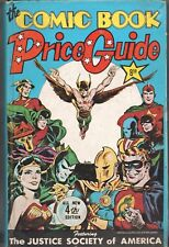 Book - Overstreet: THE COMIC BOOK PRICE GUIDE No.4 - Hardcover 1974