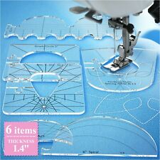 Quilting Templates for Domestic Sewing Machine - Sewing Tools New Ruler Acrylic