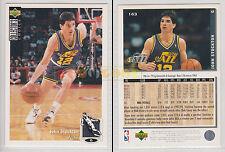 NBA UPPER DECK 1994 COLLECTOR'S CHOICE - John Stockton #163 - Ita/Eng- MINT