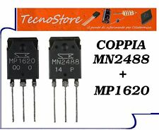COPPIA MP1620 + MN2488 TRANSISTOR TO-3P PAIR MP1620/MN2488