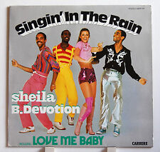 "LP 12"" Sheila B. Devotion Singing in the rain CARRERE REC. ex +"