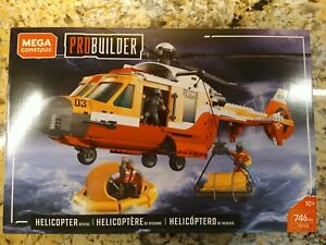 Mega Construx Probuilder Helicopter Rescue call of duty wear to corner