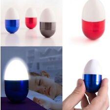 Huevo LED de Decoración,metal y plástico,incluye pilas,luz tenue,3.5 x 6 x 3 cm