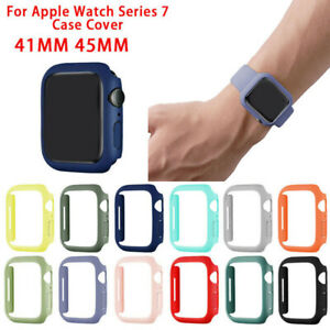 Full Protective Cover Case/Screen Protector For Apple Watch Series 7 41/45mm AA+