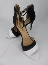 Buffalo Shoes Shadow Ladies Sandals Black / White UK 6 EU 39 LN23 94