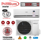 12000 BTU Air Conditioner Mini Split 19 SEER INVERTER AC Ductless Heat Pump 110V photo