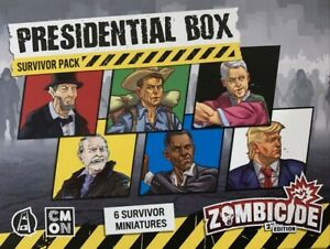 Zombicide 2nd Edition ZCD-KS02 Presidential Box Kickstarter Extra CMON SEALED