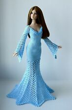 """Handmade knit outfit for Tonner Doll Cami Antoinette Body 16"""" dress"""