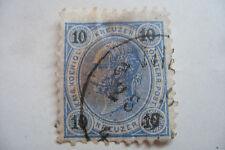 timbre ancien Autriche 10 kreuzer Franz Joseph 1890