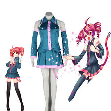 Hot Anime Cosplay Kasane Teto Vocaloid Cosplay Costume For Halloween Clothes