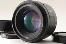 Mint Sony SAL 50mm f/1.4 AF Objektiv mit Kapuze für Sony aus Japan 66