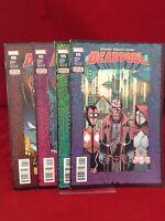 Deadpool #6 #12 #19 #25 2016-2017 Marvel Comics Full Deadpool 2099 Story Arc