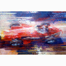 Maserati 250F Fangio 1957 Nurburgring by Dexter Brown Limited Edition Print