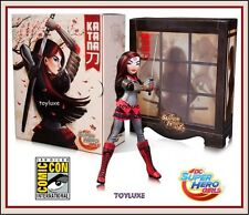 SDCC DC Super Hero Girls KATANA Comic Con Exclusive Suicide Squad Sword Master !