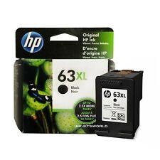 Genuine HP 63 XL Ink Cartridge Black for HP 4520 4511 3830 3831 3833 Printer