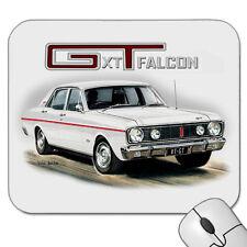 1968  FORD  XT  GT  FALCON   302  V8  MOUSE PAD ( 6 CAR COLOURS )