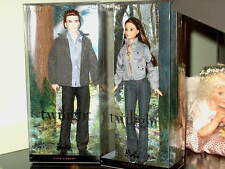 TWILIGHT BELLA AND EDWARD MIB 2 DOLLS VINYL  FREE SHIPPING