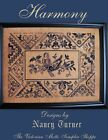 QUAKER Harmony sampler counted cross stitch chart