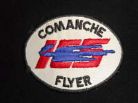 Comanche Flyer ICS embroidered applique patch airplane aviation aircraft plane