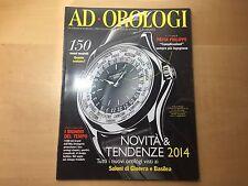 Revista AD OROLOGI Magazine - Supplemento al N. 397 Di Ad - Edizioni Condé Nast