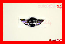 MINI COOPER REAR TRUNK EMBLEM WINGS 2009-2012 GENUINE 51 14 2 755 602 OEM NEW