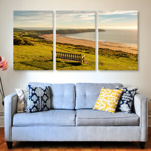 Baggy Point Tryptich Canvas