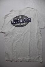 New True Religion Men Logo White    Shirt XXLarge XXL