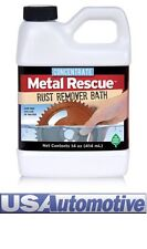 """METAL RESCUE RUST REMOVER BATH CONCENTRATE 414ML""""Safe On Everything Except Rust"""""""