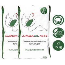 Cumbasil® Mite 2x 25 kg Staubbad für Geflügel / Milbenbefall Hühner/Hühnermilben