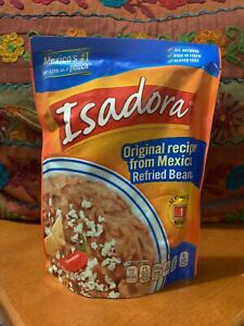 Isadora Refried Beans, Original recipe from México.