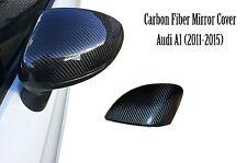Audi a1 Carbon Fiber Mirror Cover Cap 8X0857528A 8X0 857 528 A