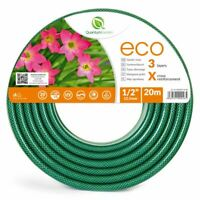 "1/2"" 20M REINFORCED GARDEN HOSE PIPE FOR PLANTS WATERING OUTDOOR - ECO"