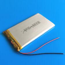 2300 mAh 3.7 V Li Po Batería 405085 para Tablet PC Pad cámara grabadora de DVD GPS de medio