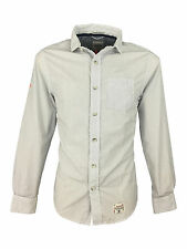 Superdry Men's Striped Collared Casual Shirts & Tops
