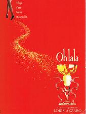 PUBLICITE ADVERTISING 035  1994  LORIS AZZARO  le nouveau parfum femme  OH LA LA