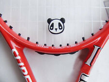 Motor Panda Tennis Racquet Vibration Dampener Black Shock Absorber New