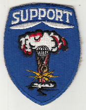 Vintage 82nd Airborne Division Support Patch / Paratrooper Insignia