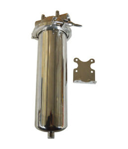 """Brand New High Pressure 304 Stainless Steel Filter Housing for 10"""" Cartridge"""