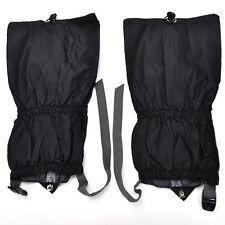 "Waterproof Outdoor Climbing Hiking Snow Ski Shoe Leg Cover Boot Legging Gaiter"""""