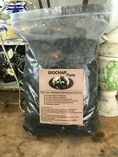 One gallon bag Biochar or Horticultural Charcoal Free Shipping