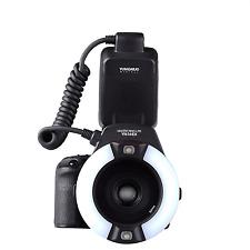 YONGNUO YN-14EX LITE E-TTL LED Flash Light w/ Macro Ring Adater for Canon Camera