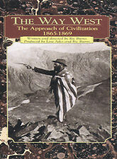 The Way West  - The Approach of Civilization DVD WGBH PBS Brand New Sealed F/S