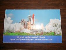 Republic of Marshall Islands Space Shuttle Discovery $5 Commemorative Coin