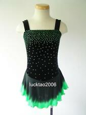 2018 new style Figure Skating Dress Ice Skating competition Dress #6762 size 12